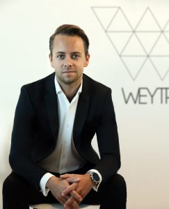 Weytr CEO/Founder Petter Amlie
